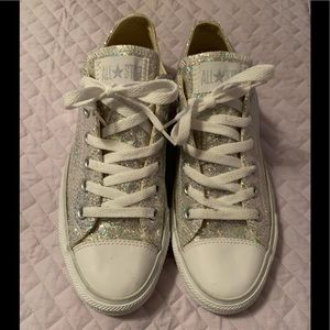 Converse Chuck Taylor all star low sequin 10